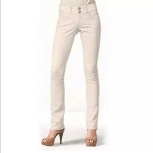 CAbi Lou Lou Blush Pink #874 Skinny Jeans Size 0
